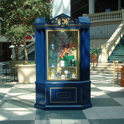 Outdoor directory and display case